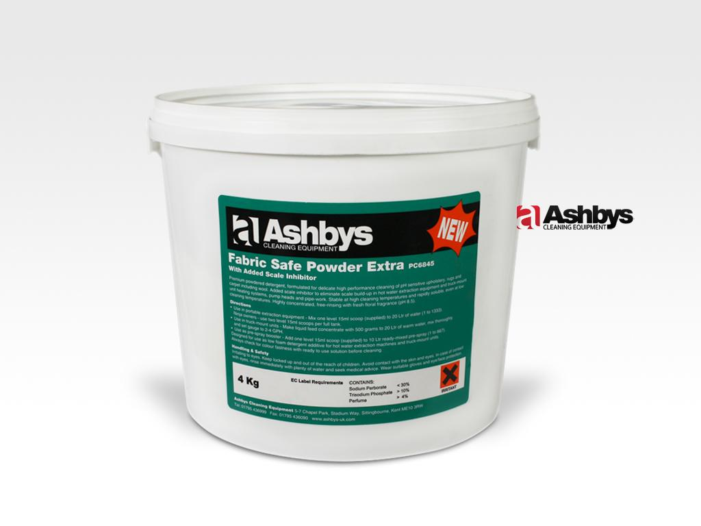 Ashbys Fabric Safe Upholstery Cleaning Powdered Detergent