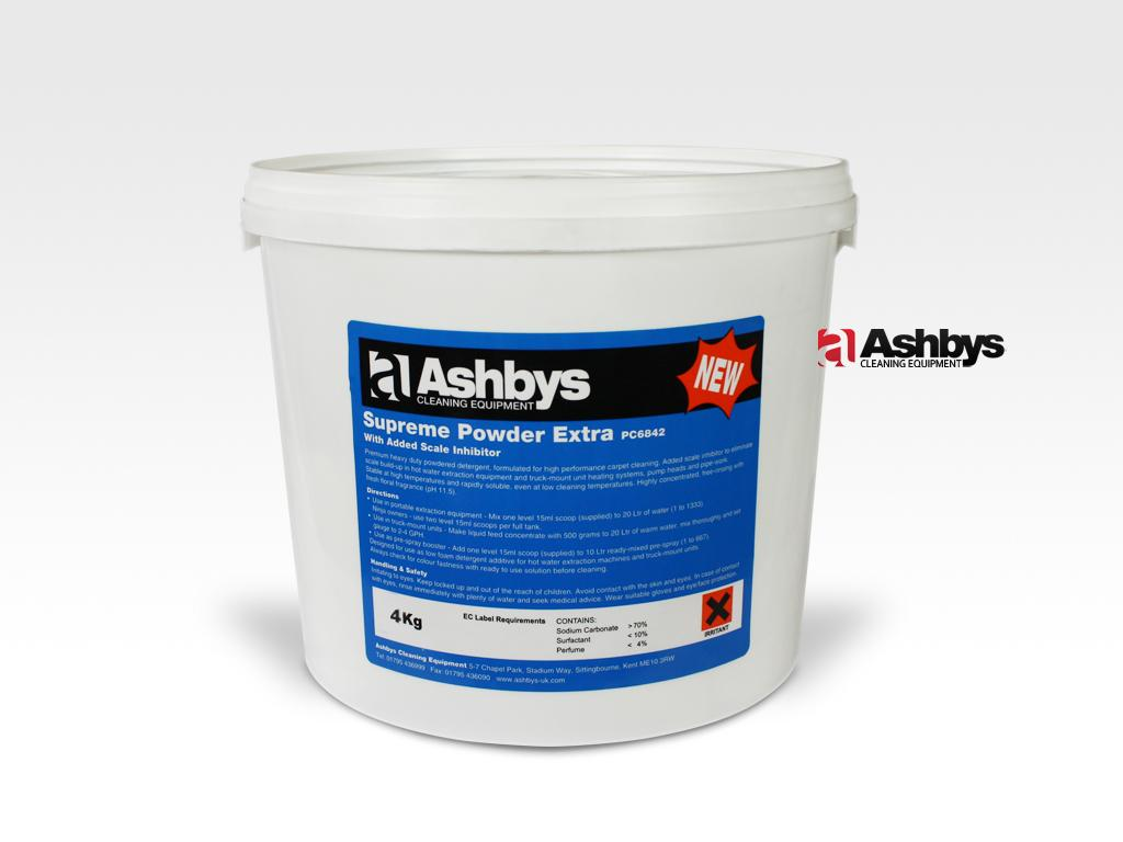 Ashbys Supreme Powder Extra - with added Scale Inhibitor 4 Kg